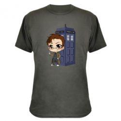 Камуфляжна футболка Doctor who is 10 season2