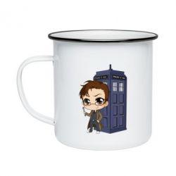 Кружка емальована Doctor who is 10 season2