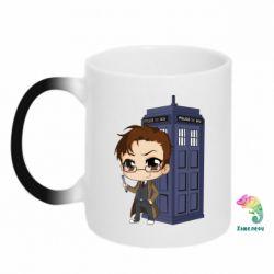 Кружка-хамелеон Doctor who is 10 season2