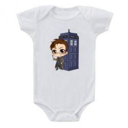 Дитячий бодік Doctor who is 10 season2