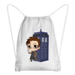 Рюкзак-мішок Doctor who is 10 season2