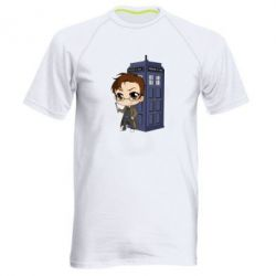 Чоловіча спортивна футболка Doctor who is 10 season2