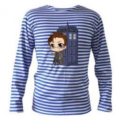 Тільник з довгим рукавом Doctor who is 10 season2