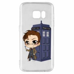 Чохол для Samsung S7 Doctor who is 10 season2