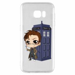 Чохол для Samsung S7 EDGE Doctor who is 10 season2