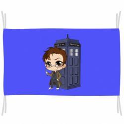 Прапор Doctor who is 10 season2