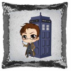 Подушка-хамелеон Doctor who is 10 season2