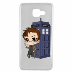 Чохол для Samsung A7 2016 Doctor who is 10 season2