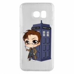 Чохол для Samsung S6 EDGE Doctor who is 10 season2