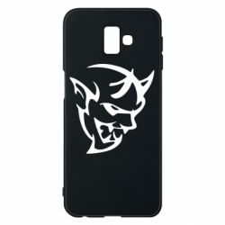 Чехол для Samsung J6 Plus 2018 Dodge demon logo
