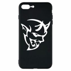 Чехол для iPhone 7 Plus Dodge demon logo