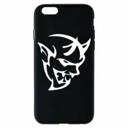 Чехол для iPhone 6/6S Dodge demon logo