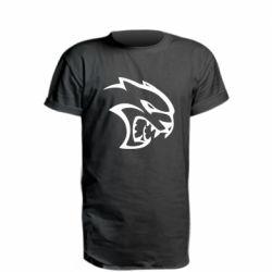 Подовжена футболка Dodge Hellcat SRT