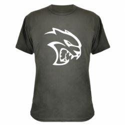 Камуфляжна футболка Dodge Hellcat SRT