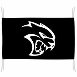 Прапор Dodge Hellcat SRT