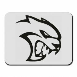 Килимок для миші Dodge Hellcat SRT