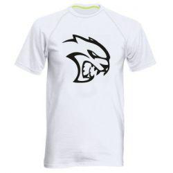 Чоловіча спортивна футболка Dodge Hellcat SRT