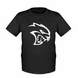 Дитяча футболка Dodge Hellcat SRT