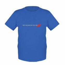 Дитяча футболка Dodge logo
