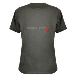 Камуфляжна футболка Dodge logo