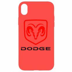 Чохол для iPhone XR DODGE