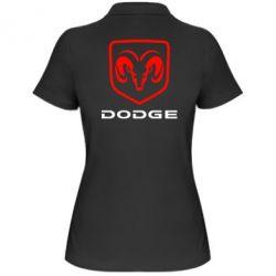 Женская футболка поло DODGE - FatLine