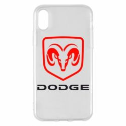 Чохол для iPhone X/Xs DODGE