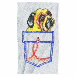 Рушник Dog in the pocket