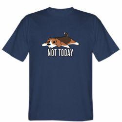 Мужская футболка Dog not today