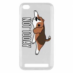Чехол для Xiaomi Redmi 5A Dog not today
