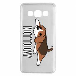 Чехол для Samsung A3 2015 Dog not today