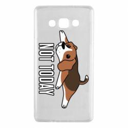 Чехол для Samsung A7 2015 Dog not today