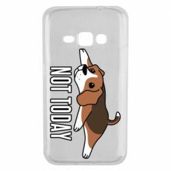 Чехол для Samsung J1 2016 Dog not today
