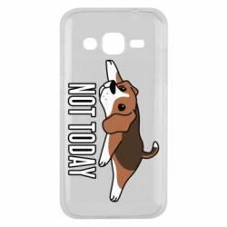 Чехол для Samsung J2 2015 Dog not today