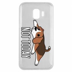 Чехол для Samsung J2 2018 Dog not today
