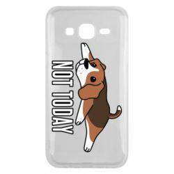 Чехол для Samsung J5 2015 Dog not today