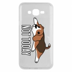 Чехол для Samsung J7 2015 Dog not today