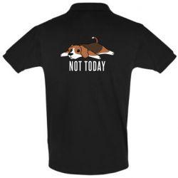 Мужская футболка поло Dog not today