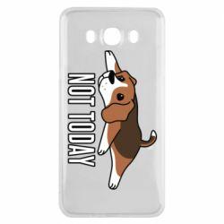 Чехол для Samsung J7 2016 Dog not today