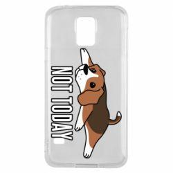 Чехол для Samsung S5 Dog not today