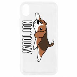Чехол для iPhone XR Dog not today