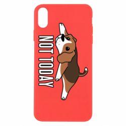 Чехол для iPhone Xs Max Dog not today
