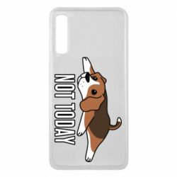 Чехол для Samsung A7 2018 Dog not today