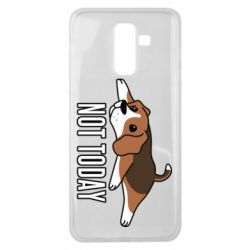 Чехол для Samsung J8 2018 Dog not today