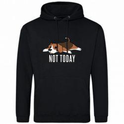 Мужская толстовка Dog not today