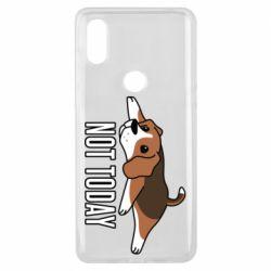 Чехол для Xiaomi Mi Mix 3 Dog not today