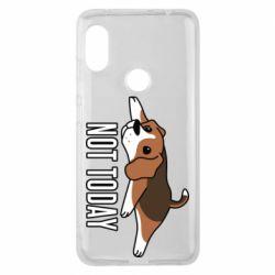 Чехол для Xiaomi Redmi Note 6 Pro Dog not today