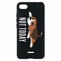 Чехол для Xiaomi Redmi 6A Dog not today