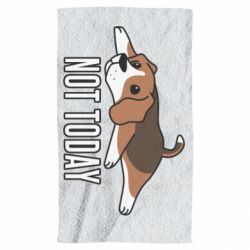 Полотенце Dog not today