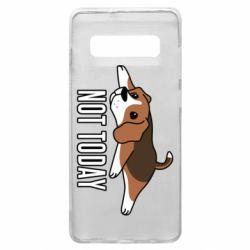 Чехол для Samsung S10+ Dog not today